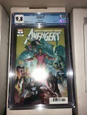 Avengers (Volume 7) #19 Bradshaw variant CGC 9.8 Captain America free shipping