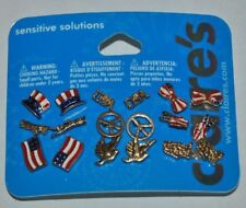 Claire's Sensitive Solutions 4th of July Set of 9 Earrings