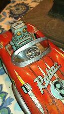 Space Patrol 1960's very rare ATC Robot 3  Tin car  japan space tin