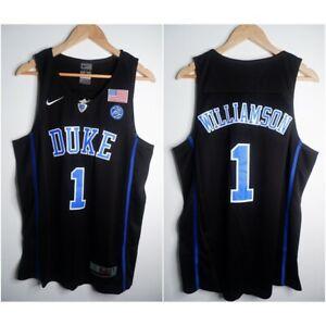 Zion Williamson #1 Duke Blue Devils Basketball Jersey Men's  | Sizes : S-4XL