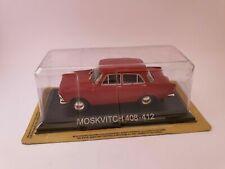 Die cast 1/43 Modellino Auto Moskvitch 408-412  De Agostini