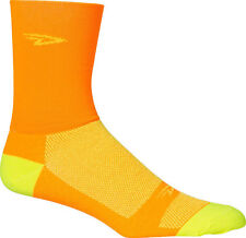 Fahrradsocken in Orange