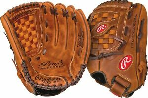 "Rawlings Player Preferred 12.5"" Baseball/Softball Glove LHT"