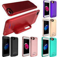 Rechargeable Extended Battery Portable Charging Case For iPhone XS 8 7 6s 6 Plus