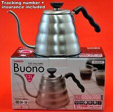 JAPAN HARIO BUONO V60 drip coffee kettle VKB-120 1.2L bouilloire tracking+ins
