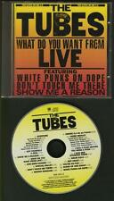 THE TUBES What Do You Want From Live 1978 LIVE CD ALBUM 2 elpees on 1 FREEPOST