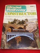 MODEL RAILWAY CONSTRUCTOR - MILLBROOK - March 1973 Vol 40 # 467