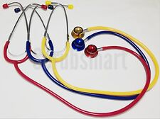 New Dual Head Child Pediatric Stethoscope Color Yellow FAST Shipping US Seller