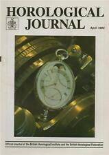 Horological Journal 135/10 Oval Watches. Audemars Piguet. Galileo's Clock.   z59