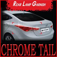 Chrome Rear Light Lamp Cover For 2011 Hyundai Elantra MD