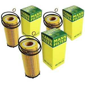 Mann-Filter Oil Filter HU720/3x (3 Pack) fits BMW X5 E70 xDrive 30 d