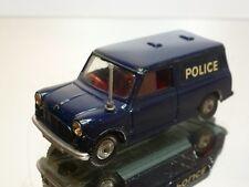 CORGI TOYS 448 AUSTIN MINI VAN - POLICE - BLUE  1:43 - GOOD CONDITION