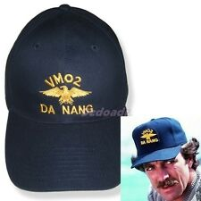 Magnum P.I. VMO-2 Da Nang Embroidered Hat Vietnam Logo Tom Selleck Replica Cap