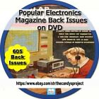 605 Popular Electronics Magazines World's Largest-Selling Electronics PDF DVD