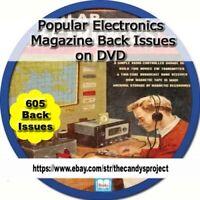 605 Popular Electronics Magazines World's Largest-Selling Electronics PDF DVD