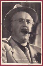 MICHEL SIMON 03 ATTORE ACTOR ACTEUR CINEMA MOVIE - SUISSE Cartolina 1941 - CIGAR