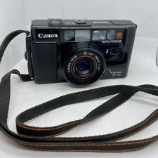 Canon AF35M 35mm Point & Shoot Film Camera Tested Working
