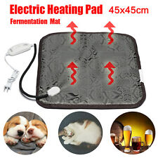 Waterproof Electric Heating Pad Mat Pain Relief Pet Dog Cat Wine Making Brewing