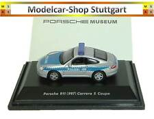 Porsche 911 (997) Carrera S COUPE POLICE MUSEUM EDITION WELLY 1:87 map02390716