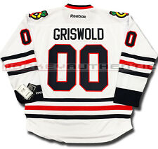 CLARK GRISWOLD CHICAGO BLACKHAWKS JERSEY WHITE CHRISTMAS VACATION