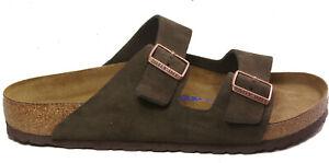 BIRKENSTOCK 0951311 ARIZONA suede brown (MOCHA) NORMAL regular fit SOFT FOOTBED