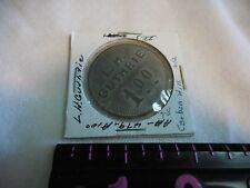 #479 A100---one dollar  L. H. GUTHRIE TOKEN-CARBON HILL,ALA