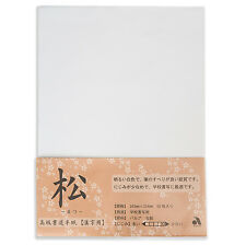 White Japanese Calligraphy Rice Paper