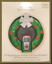 Hallmark Keepsake Ornament - Magic Light & Sound MP3 Player- Docking Station '07