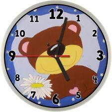 #254 Wanduhr  -> Teddy <- Kinder Uhr Teddybär Bär