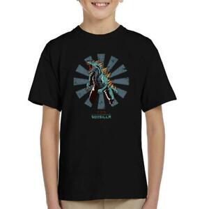 Godzilla Retro Japanese Kid's T-Shirt