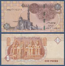 ÄGYPTEN / EGYPT 1 Pound  16.5.2016 UNC P. NEW