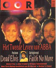 MAGAZINE OOR 1992 nr. 16 - ABBA / JOHN TRUDELL / GLEN FREY / FAITH NO MORE