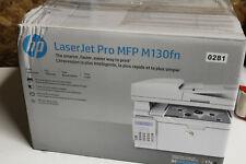 0000281 HP LaserJet Pro MFP M130fn Printer  G3Q59A  * NEW OPEN BOX