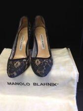 Manolo Blahnik Satin Court Shoes for Women