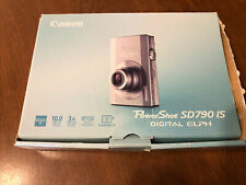 Canon PowerShot ELPH SD790 IS / IXUS 90 IS 10.0MP Digital Camera UNTESTE
