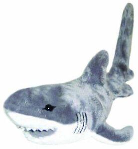 "Arctic the Great Shark Plush Soft Toy 20""/50cm White Bocchetta Plush Toys"