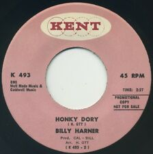 "BILLY HARNER Honky Dory/Irresistible You 7"" 1968 Kent promo EX+"
