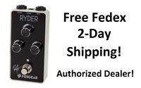 New Foxgear Ryder Distortion Guitar Effects Pedal