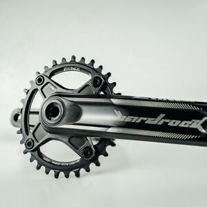 Zrace MTB Crankset Moutain Bike Crank BCD104 Chainset 10S 11S 12S For BB83