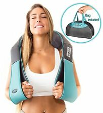 Shiatsu Back Neck And Shoulder Massager With Heat - 3d Kneading Pillow Massager