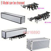 1/14 20FT/40FT Aluminum Container Frame for RC Tamiya Scania R620 Actros Trailer