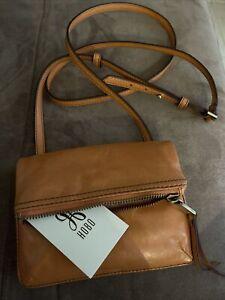Hobo International Peach Leather Cross Body / Shoulder Bag