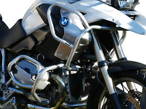 Pare carters Heed BMW R 1200 GS (08-12) Full Bunker + supportes pour des feux