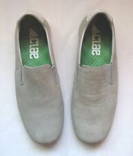 Men's Clae Garvey Slip-On Suede Shoes USA 8-1/2 Sport Casual Pale Gray #SY 08001