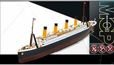 1:1000 Academy R.m.s. Titanic Mcp Multi Color Parts Plastic Model Kit with Stand