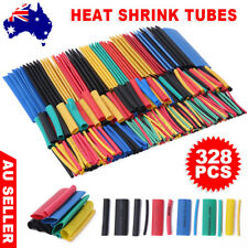 328/530PCS Assortment Heat Shrink Tubing Tube Sleeving Cable Wire Insulation Kit
