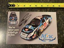 NASCAR Signed Greg Biffle Postcard – 25 cards ship for $9