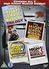 High School Musical Trilogy 1, 2 & 3 DVD R2 New disney Original movie