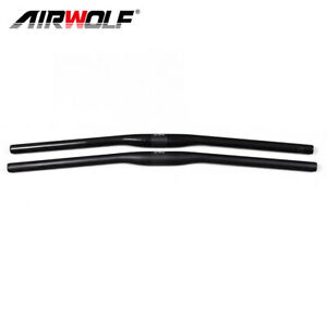 Mountain bike parts carbon mtb handlebar 3K weave flat bars 31.8*580mm-720mm