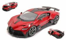 Bburago Bugatti Divo (Rouge Métallique Maßstab 1 18) Modèle Course Auto